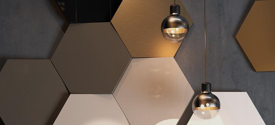 nouveaux panneaux acryliques mats et brillants. Black Bedroom Furniture Sets. Home Design Ideas